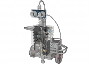 CAD-Robot-with-Ultrasonic-Sensors