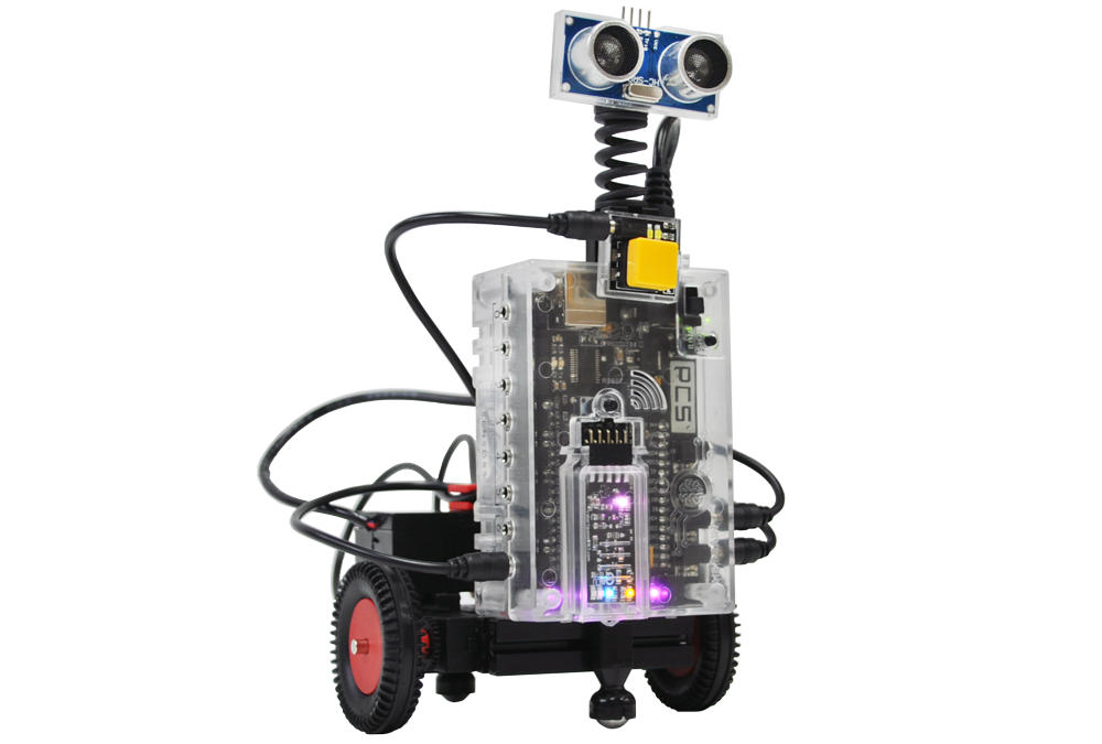 Bounce Bot – RiQ with Touch Sensors!