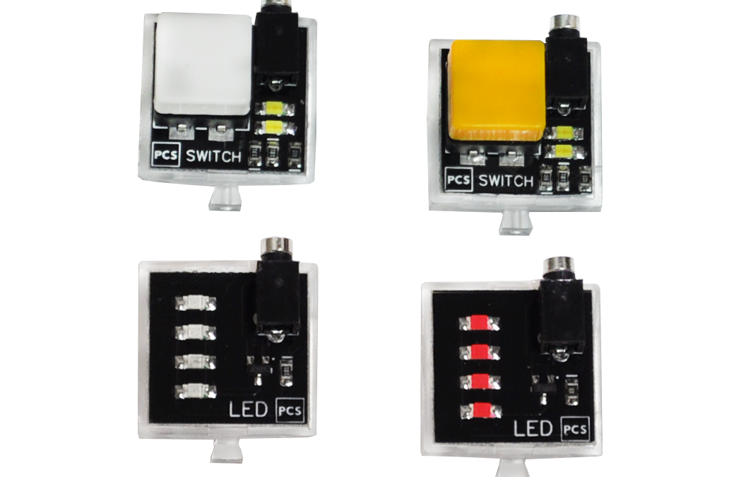 Touch Sensors and LEDs